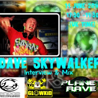 GL0WKiD pres. ENDOR Recordings Special & Dave Skywalker Guest - Planet Rave Radio (14JUN2016)