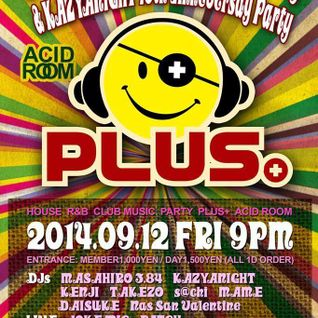 "2014/09/14 ""PLUS+"" MASAHIRO 3.84 20TH ANNIVERSARY PARTY PRESENT CD!!"