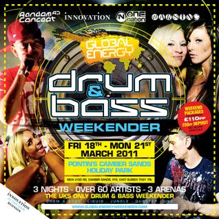 DJ Ollie, Harry Shotta & MC Nutcracka - Global Energy Weekender 2011