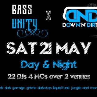 Adam Mac - Live at Bass Unity x Down'n'Dirty May 22nd 2016
