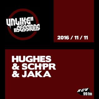 Unlike Sessions - 2016 nov 11 - Hughes / Sch'pr / Jaka