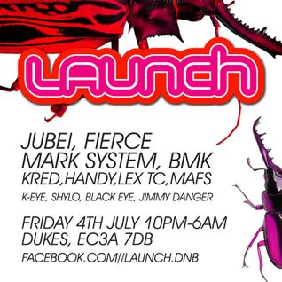 Recorded LIVE at Launch, London - BMK & MC Jimmy Danger