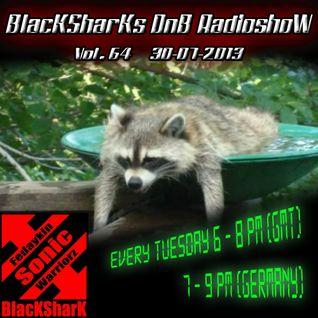 BlacKSharKs DnB Radioshow [www.dnbnoize.com] 2013-07-30 Vol. 64