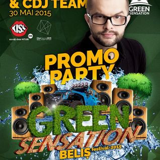 CDj team @ promo party Green Sensation 2015, Buricu' Targului (Cluj) [warm-up for Optick]