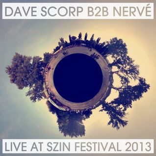 Dave Scorp and Nervé - Live @ SZIN Festival 2013
