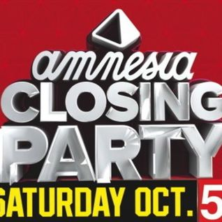 Les Schmitz B2B Caal Smile @ Amnesia Ibiza Closing Party 2013 (part 1)