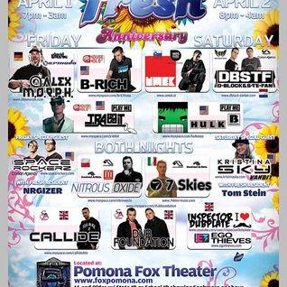 Kristina Sky Live @ Fresh Anniversary (The Fox Theater) [04-02-11]