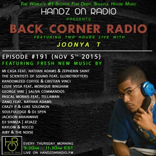 BACK CORNER RADIO: Episode #191 (Nov 5th 2015)