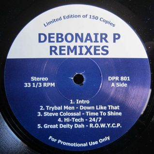 Debonair P - Remixes Lp