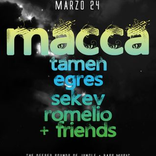 Deep Jungle 24/03/2013 - Macca