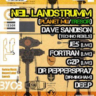 Neil Landstrumm (Live PA) @ Fortran - The Music Cafe Leicester - 01.02.2014