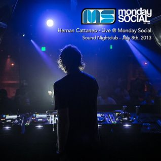 Hernan Cattaneo - Live at Monday Social, Sound Nightclub (08-07-2013)