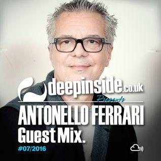 DEEPINSIDE presents ANTONELLO FERRARI (Exclusive Guest Mix)