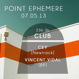 CEY @ AperoBPM #3 by Newtrack, Point Éphémère, Paris, 070513