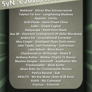 5yN's 2010 November Mix