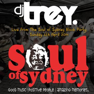 DJ Trey - Live @ The Soul Of Sydney Block Party - Sunday 6th April 2014