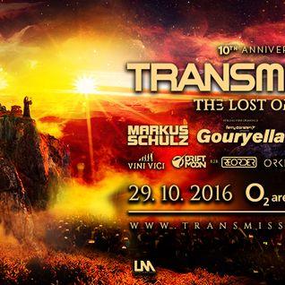 Markus Schulz - Live @ Transmission, The Lost Oracle (Prague, Czech Republic) - 29.10.2016