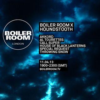 Al Tourettes @ Boiler Room X Houndstooth - Boiler Room London - 11.04.2013