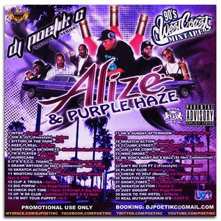 """Alize & Purple Haze"" 90's G-Funk Mix"