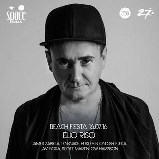 Elio Riso - Teaser mix for Space Beach Fiesta @ Studio338 London 16.07.2016