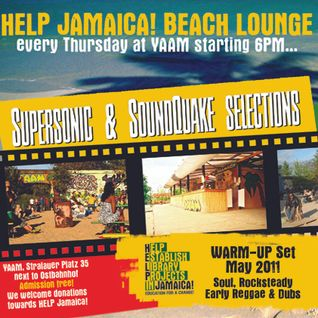 Warm Up Set @ HELP Jamaica! Beach Lounge (May 2011)