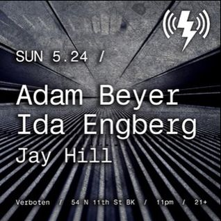 Jay Hill - Opening Set Adam Beyer + Ida Engberg @ Verboten NYC 5/24