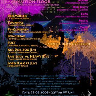 """Task - """"Der 10 Jahre zu späte Rave Mixx_Part.1 (28.05.2008)"""