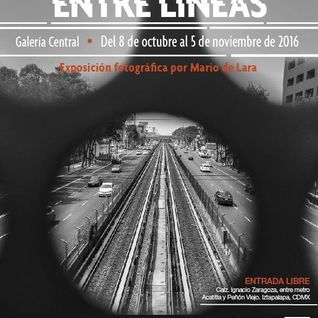 Umbral entrevista a Mario de Lara con motivode la exposición Viajando Entre Líneas programa transmit