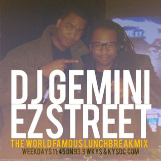 Dj Gemini & EZ Street Live on 93.9 WKYS The World Famous #LunchBreakMix (Rare Essence Edition)