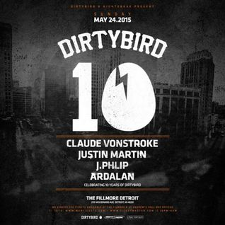 Claude Vonstroke - live at Dirtybird 10, The Fillmore, Detroit - 24-May-2015