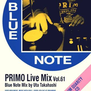PRIMOmix_vol.61_meets Blue Note(27 september 2014)