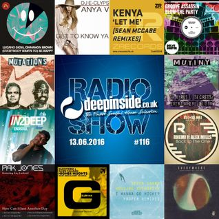 DEEPINSIDE RADIO SHOW 116 (Mutiny UK Artist of the week)