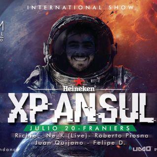 Xpansul at Elysium Festival 2016. Buga (Colombia)
