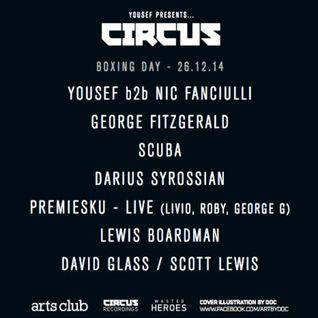 Yousef b2b Nic Fanciulli - Live @ Circus Liverpool - 26.12.2014