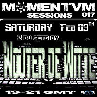 Momentvm Sessions 017 - Wouter de Witte - 2013-02-09