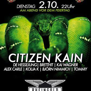 BrettHit - Sound Of Poison @ Rheingold Club, Düsseldorf (Part2)