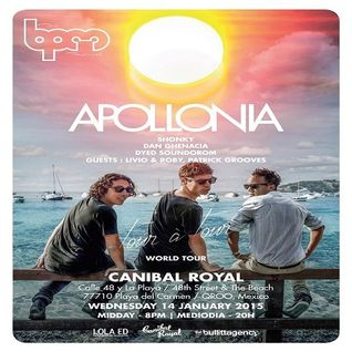 Livio & Roby  -  Live At Apollonia, Canibal Royal (The BPM Festival 2015, Mexico)  - 14-Jan-2015