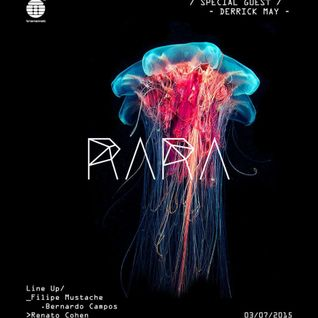 Derrick May @ RARA-Rio de Janeiro, Brazil-July 3rd, 2015