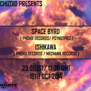 Space Byrd [Phonix Records / Pynopticz Prod] - DJ set on Radio Schizoid - October 2014