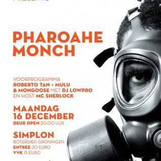 BreakNorth Pharoahe Monch special  (11 December 2013)