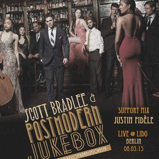 Justin Fidèle - Scott Bradlee & Postmodern Jukebox Support Mix - Live @ Lido Berlin - 08.03.15