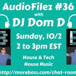 MoreBass 10-2-16 AudioFilez #36