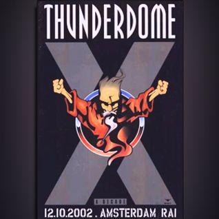 Leviathan & (MC) Predator @ Thunderdome A Decade - 12.10.2002 Amsterdam Rai