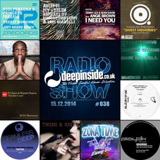 DEEPINSIDE RADIO SHOW 038 (Robert Owens Artist of the week)