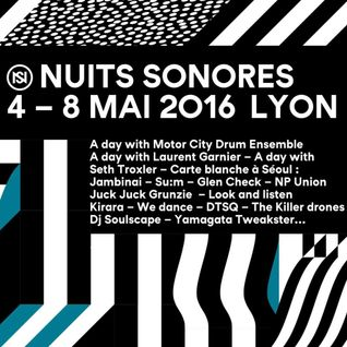 James Holden & Camilo Tirado - Live at Outdoor Museum of Fractals, Nuits Sonores, Lyon (06-05-2016)