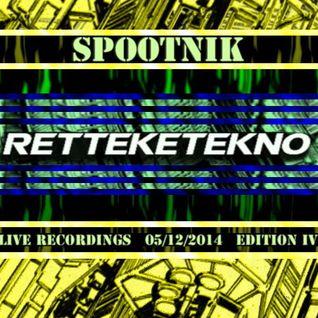 SPOOTNIK @ RETTEKETEKNO IV, Duycker 05/12/2014 Hoofddorp NL