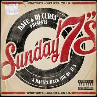 Sunday 7's - A Back 2 Back Mix of 45's