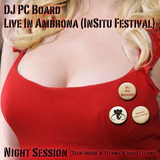 DJ PC Board - Live In Ambrona (InSitu Festival)