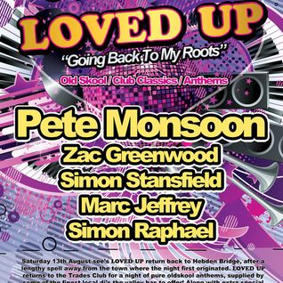 Zac Greenwood - LOVED UP - 13TH AUG - Going Back To My Roots
