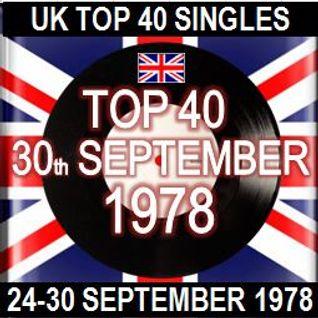UK TOP 40: 24-30 SEPTEMBER 1978